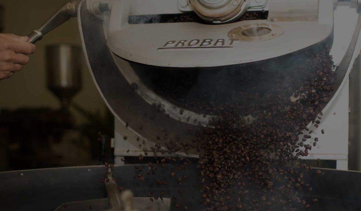 Kaffeeröstung Trommelröstung